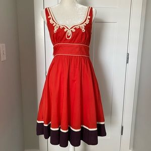 Anthropologie Slide Rule Dress Size 6